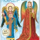 Angels Paper Dolls With Glitter by Tom Tierney 0486479404