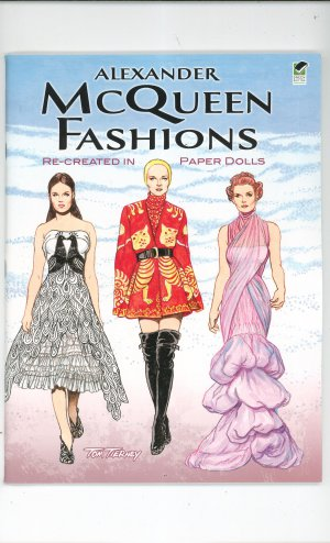 Alexander McQueen Fashions Paper Dolls by Tom Tierney 0486481786