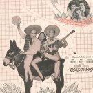 But Beautiful Sheet Music Road To Rio Vintage Burke And Van Heusen Inc.
