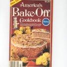 Pillsbury America's Bake Off Cookbook 29th 1980