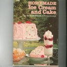 Vintage Homemade Ice Cream And Cake Cookbook By Editiors Of Farm Journal