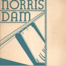 Vintage Norris Dam Tennessee Valley Authority 1936