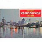 Greater Vancouver Canada Souvenir Picture Book