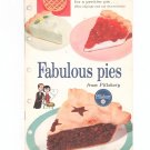Fabulous Pies From Pillsbury Cookbook