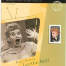 USA Philatelic Magazine Fall 2001 Face To Face With Lucille Ball Stamp