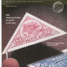 USA Philatelic Magazine Spring 1997 The First Ever Triangle Stamp
