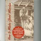 How To Make Good Movies Complete Handbook For Amateur Movie Maker Vintage Kodak