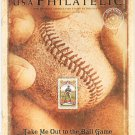USA Philatelic Magazine / Catalog Fall 2008 Take Me Out To The Ball Game Stamp