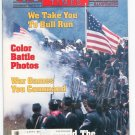 Civil War Times Magazine Illustrated November 1986 Bull Run Color Photos War Games