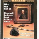 Civil War Times Magazine Illustrated December 1986 Stonewall Jackson's Railway March Trains South
