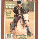 Civil War Times Magazine Illustrated January 1986 A Murder In Camp