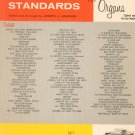 World's Favorite Standards For Hammond Organs Series Number 3 Vintage