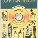 Egyptian Designs CD Rom & Book Electronic Clip Art 372 Designs 0486999580