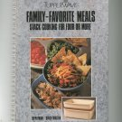 Tupperwave Family Favorite Meals Cookbook Stack Cooking For Four Or More