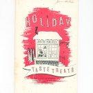 Holiday Taste Treats Santas Bake Shop Cookbook Regional New York Rochester Gas & Electric RGE