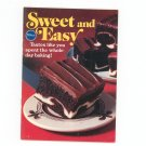 Sweet And Easy Cookbook by Pillsbury Vintage