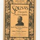 Carl Fischer Professional Folios Sousa's Favorite March Book Piano Vintage