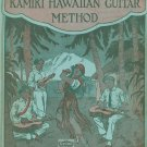 The Improved Kamiki Hawaiian Guitar Method Music Book Vintage Smith Music