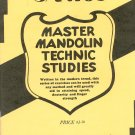 Santos Master Mandolin Technic Studies Vintage