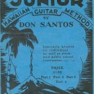 Santos Junior Hawaiian Guitar Method Part 1 Vintage