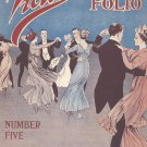 Victor Dance Folio Number Five Music Book Vintage Leo Feist