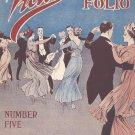 Victor Dance Folio Number Five Music Book Vintage Leo Feist