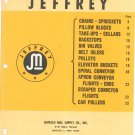 Jeffery Equipment Catalog Vintage 1957 Illustrated Number 917
