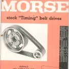 Morse Stock Timing Belt Drives Catalog TB-58 Vintage