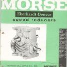 Morse Eberhardt Denver Speed Reducers Catalog Vintage