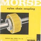 Morse Nylon Chain Coupling Catalog Vintage