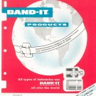 Band It Products Pressure Clamps  Catalog Vintage 1959