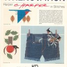 Wrenovation Harper In Stitches Cross Stitch Book 8 KD Artistery