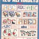 120 Alphabets Book 2 Leisure Arts 2633 Cross Stitch by Carol Emmer