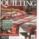 Better Homes And Gardens American Patchwork & Quilting Back Issue December 1995 With Pattern