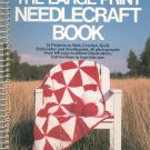 The Large Print Needlecraft Book by Mildred G. Ryan Knit Crochet Quilt Embroider Needlepoint