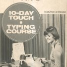 Vintage Smith Corona 10 Day Touch Typing Course Complete With Records & Box