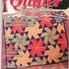 The Quilter Magazine Back Issue March 2003  With Pattern All Skill Levels