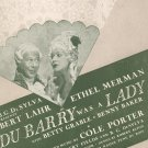 Do I love You ? Sheet Music Vintage Chappell & Co.
