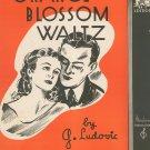Orange Blossom Waltz Piano Solo Sheet Music Vintage Moderne Publications