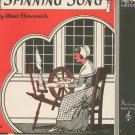 Spinning Song Piano Solo Sheet Music Vintage Moderne Publications