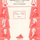 Maiden's Prayer Piano Solo Sheet Music Vintage Belwin Inc.