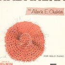 Habanera Piano Solo Sheet Music Vintage Belwin Inc.