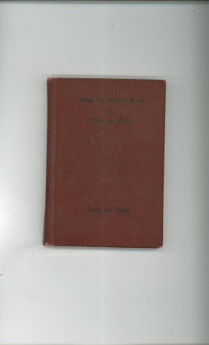 Song And Service Book For Ship And Field Arm & Navy Music Book Very Nice Hard Cover Vintage 1942