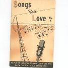 Back To Bible Broadcast Songs You Love Number 4 Vintage 1959