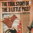 The True Story Of The 3 Little Pigs 0670827592