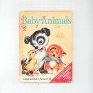 Baby Animals by Naoma Zimmerman Childrens Book Vintage Rand McNally Publisher Elf Book