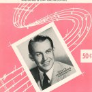 They Were Doin' The Mambo Vintage Sheet Music Mayfair Music Corp.