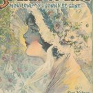 So Long Oo-Long How Long You Gonna Be Gone Vintage Sheet Music Wayerson Berlin & Snyder