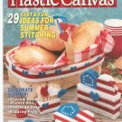 Quick & Easy Plastic Canvas Magazine Back Issue Number 12 June / July 1991