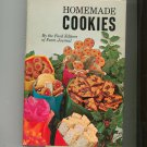 Homemade Cookies Cookbook By Editors Of Farm Journal Vintage First Edition